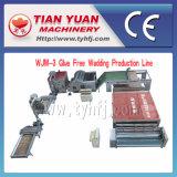 Cadena de producción Pegamento-Libre de máquinas de la guata de los Nonwovens (WJM-2)