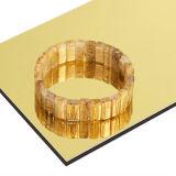 Goldspiegel-zusammengesetztes Aluminiumpanel