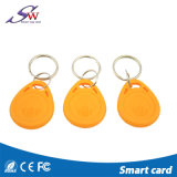 Unieke 13.56MHz Mf Nul RFID Keychain voor Toegangsbeheer