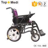 Topmediの経済的な移動性の折る鋼鉄電力の車椅子