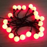 Weihnachtszeichenkette-Licht der Kugel-LED für im Freiengebrauch