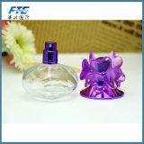 Bottiglia vuota del profumo 30ml dello spruzzo riutilizzabile trasparente dell'atomizzatore