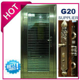 La sécurité porte en acier inoxydable avec garniture de vitrage en SUS304 (ES-7018)