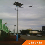 Solar de 6m calle luz LED con lámpara LED 30W