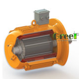 7kw 250rpm magnetischer Generator, 3 Phase Wechselstrom-permanenter magnetischer Generator, Wind-Wasser-Gebrauch mit niedriger U/Min