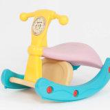 Cabeça de desenhos animados Criança Rocking Aluguer de carro do giro do bebé brinquedos