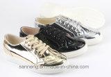 Zapatos de las mujeres/zapatos clásicos del ocio con la inyección Outsole (SNC-49026) del PVC