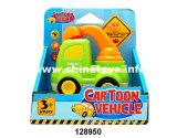 Vehículo de dibujos animados Dibujos animados que funcionan con batería de coche con música&Light (128950)