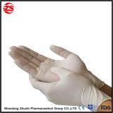 Luva transparente de PVC médicos com bom desempenho de flexibilidade