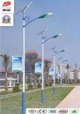 Luz de rua solar ao ar livre do diodo emissor de luz do jardim da luz solar