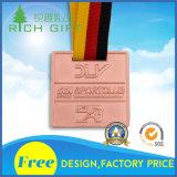 Livrar a medalha do metal do esporte da lembrança do projeto para o preço da venda por atacado e de fábrica
