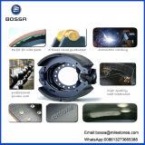 Processo de fabricação de sapatos de freio 0k56A-26-38z Peças de motocicleta Peças de reposição automáticas Travões de freio