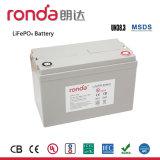 태양 에너지 시스템 (콜럼븀, UN38.3, ISO14001)를 위한 12V 100ah UPS 시스템 LiFePO4 건전지