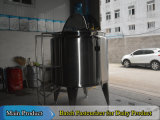 1.000 litros de leche Dairy equipo de pasteurización de la leche de pasteurización por lotes
