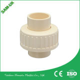 Pipes enes ivoire ou personnalisées de pipe et d'ajustage de précision CPVC de la couleur DIN CPVC et union des garnitures CPVC