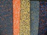 EPDM пятен спортзал фитнес-резиновый пол вальцы резиновые коврики