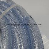 Mangueira trançada de fibra de PVC para transferir o leite