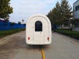 Carrinho de bebidas móveis carne carrinhas de venda automática de alimentos na China