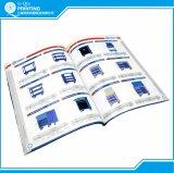 Impressão em linha customizada do catálogo completo de cores