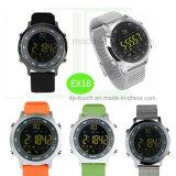 De Professionele Waterdichte Slimme Armband van uitstekende kwaliteit van het Horloge Ex18