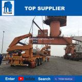 Vrachtwagen van de Container van de Lading van de Aanhangwagen van de Container van de Lift van de titaan de Zelf met Sideloader