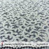 Venta al por mayor nupcial de marfil del cordón de la tela de algodón (M3393-G)