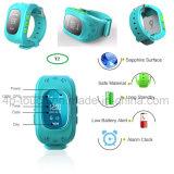 Perseguidor de venda quente do relógio dos miúdos do GPS com atendimento do SOS e o Y2 Multifunction