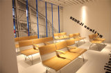 4 sièges Chaises en alliage d'aluminium Attendre, Attendre président, Long Bench H60b-3