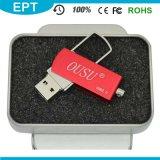 Миниый привод вспышки USB металла подгонял привод пер логоса