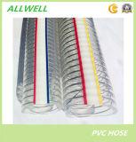 """Plastic Slang 1 van de Waterpijp van de Slang van de Draad van het Staal van pvc Spiraalvormige """""""