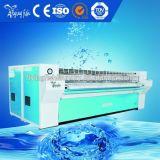 다림질 기계 전기 난방 세탁물, Faltwork Ironer 세탁물 장비 (YP)