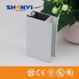 Revestimento em pó branco Material de construção de 6.063 T5 Extruted OEM perfil de alumínio