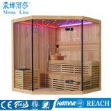 Monalisaの支えがない従来型の木の乾燥した蒸気のサウナ部屋(M-6036)