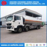 HOWO 8X4 35000liters Oil Tanker Truck Aluminum 35000L Fuel Tank Truck