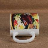 レストランのための陶磁器のマグのおいしいステーキ映像の印刷