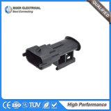 Conector impermeable de Bosch de combustible diesel del inyector del alambre auto del sensor