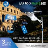 Alumbrado público al aire libre solar del jardín LED del nuevo producto del diseño