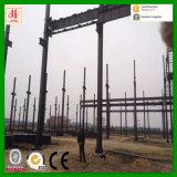Magazzino prefabbricato della struttura d'acciaio di disegno della costruzione con il prezzo di basso costo