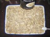 新しい穀物からのシャンピニオンによって缶詰にされる全きのこのシャンピニオン