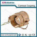 금관 악기 유형 D 차단 Camlock 이음쇠 또는 캠 및 강저 연결