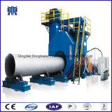 Machine de grenaillage de mur extérieur des pipes Qgw100 en acier