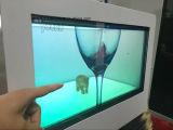 42inch affichage à cristaux liquides transparent Showbox avec des entrées de HDMI+VGA+USB