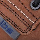 De nieuwe Schoenen van het Leer van Nubuck van de Veiligheid van het Metaal van het Ontwerp Vrije met Samengestelde Bruine Neus m-8356