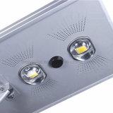 Tutti in una lampada del giardino dell'indicatore luminoso di via di 70W LED Soalr con il sensore di movimento