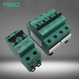 Interruptor do trilho 3p 32A 500V MCB do RUÍDO dos dispositivos de proteção da C.C.