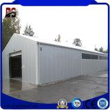 Garage préfabriqué de structure métallique de coût bas et de qualité