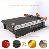 Excellent star Vibrating CNC Knife Cutting Machine for Fabric with AUTOMATIC Feeding 2516