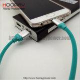 인조 인간 1m 2A 마이크로 USB 케이블 알루미늄 합금 연결관 이동 전화 부속품을 비용을 부과하는 튼튼한 연약한 TPE 탄력 있는 케이블 빠른 데이터
