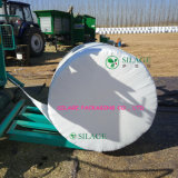 Film blanc d'enveloppe d'ensilage de film d'agriculture de PE de catégorie comestible avec le niveau élevé de bâton