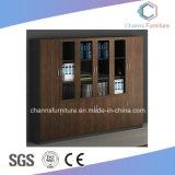 Foshan-Möbel-Schwarz-hölzerner Garderoben-Büro-Datei-Schrank (CAS-FC1806)